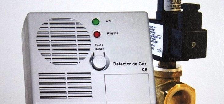 Informare privind montarea detectoarelor automate de gaze naturale